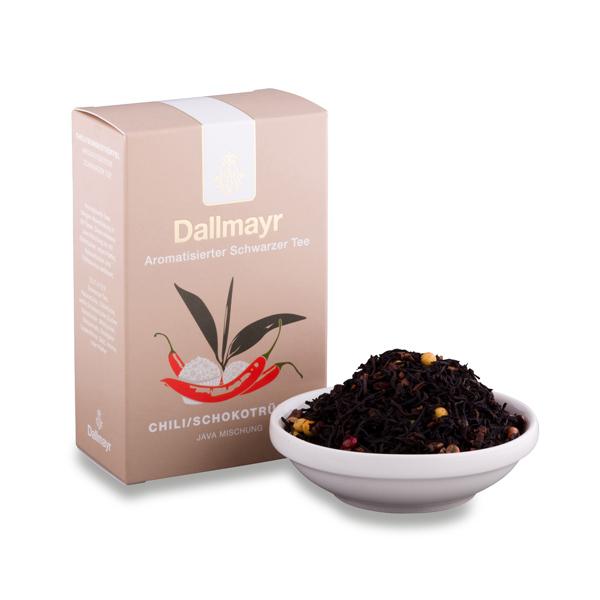 Černý čaj chilli - pralinky