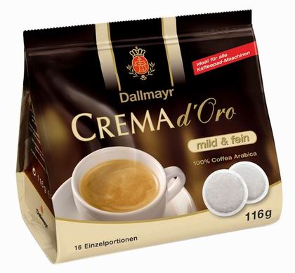 Kapsle Dallmayr Crema d'Oro