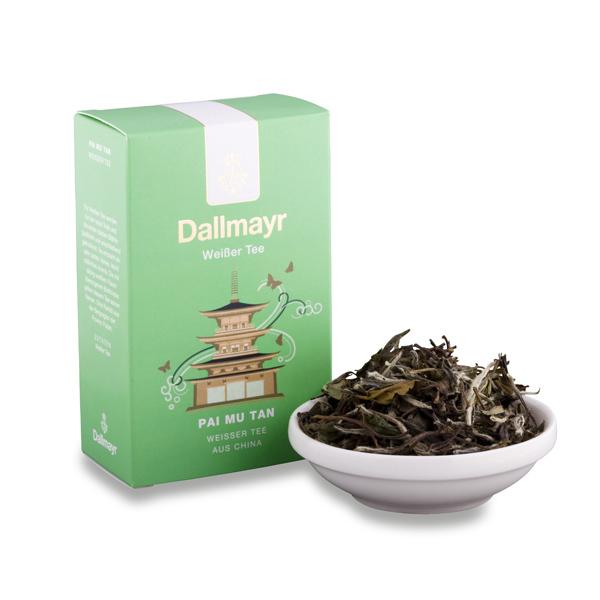 Zelený čaj Pai Mu Tan