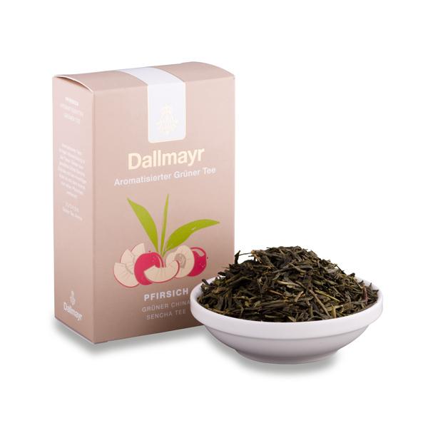 Zelený čaj broskev