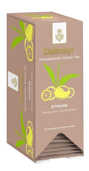 Zelený čaj s citrónem