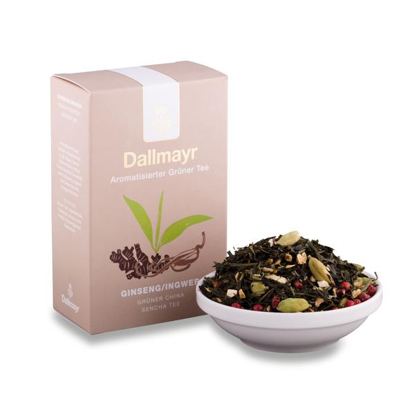 Zelený čaj ženšen - zázvor2